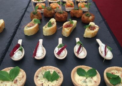 assorted canapes 4