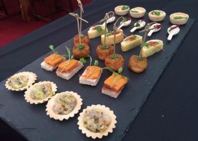 assorted canapes 5