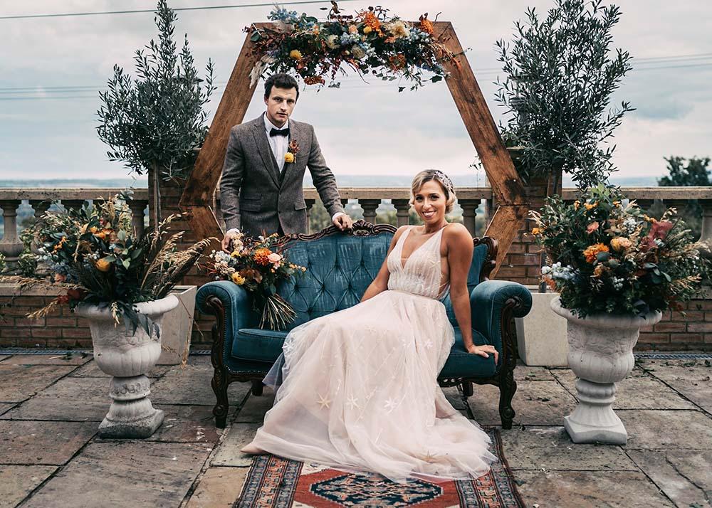 Wedding Couple at Edenwood Place